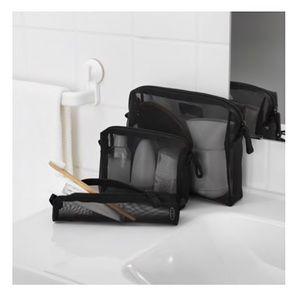 Handbags - NWT mesh makeup bags/travel pouches - set of 3